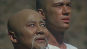 Master Po prepares Caine to leave the Shaolin monastery.